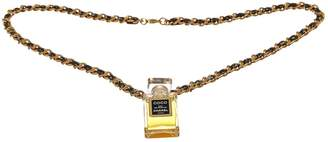 Chanel Leather necklace