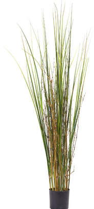 Nearly Natural Grass and Bamboo Floor Plant in Pot