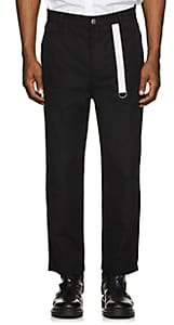 Helmut Lang Men's Cotton Work Trousers - Black