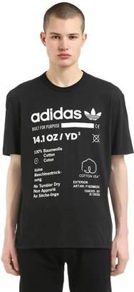 adidas Kaval Printed Cotton Jersey T-Shirt