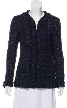 Chanel 2016 Wool-Blend Jacket