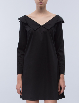 Opening Ceremony Sateen Off-the-shoulder Dress $425 thestylecure.com