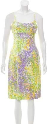 Michael Kors Printed Sleeveless Dress