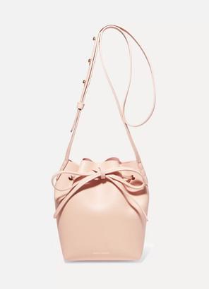 Mansur Gavriel - Mini Mini Leather Bucket Bag - Pastel pink $475 thestylecure.com
