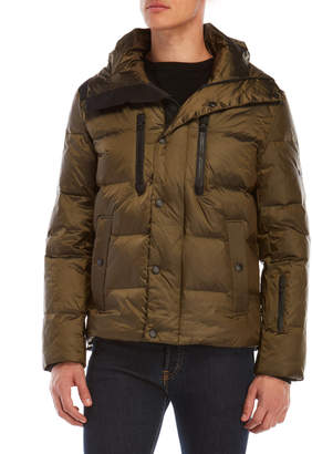 Michael Kors Hooded Quilted Down Jacket