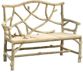 Currey & Company Currey and Company Traditional Woodland Accent Bench