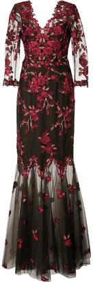 Marchesa Notte floral lace gown $1,195 thestylecure.com