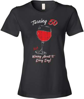 At Amazon Canada Texas Tees 50th Birthday Gifts Her Vintage 50 Wine Glass Black