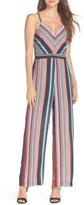 Adelyn Rae Florentine Stripe Jumpsuit