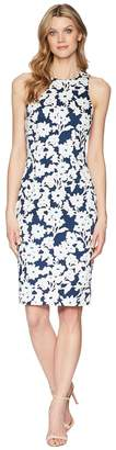Adrianna Papell Daisy Field Sleeveless Bodycon Dress Women's Dress