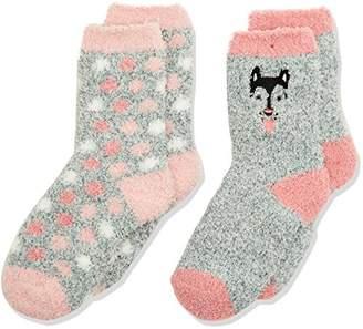 Pack of 3 Camano Girls Ankle Socks