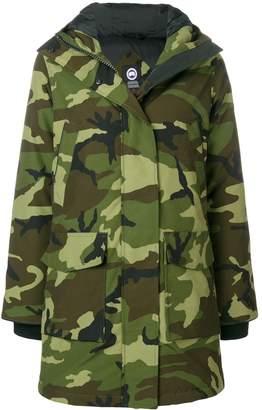 Canada Goose padded camouflage coat