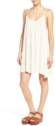 Roxy 'Windy' Scoop Neck Shift Dress $39.50 thestylecure.com