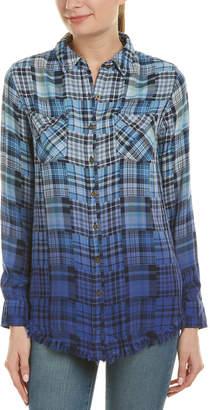 Jachs GF Girlfriend Patchwork Boyfriend Shirt