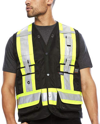 Work King High Visibility Surveyor Vest - Big & Tall