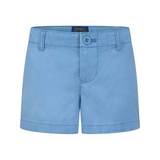Ralph Lauren Cruise CollectionGirls Blue Chino Shorts