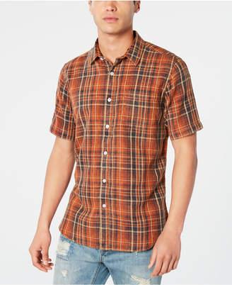 American Rag Men Regular-Fit Plaid Shirt