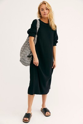 Free People Santa Barbara Sweater Midi Dress
