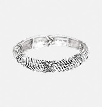 Avenue Textured X Stretch Bracelet