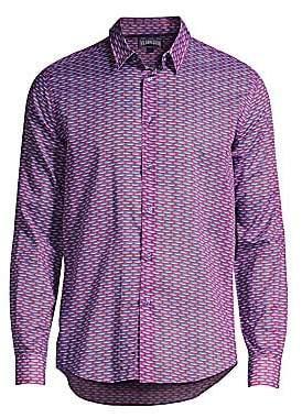 Vilebrequin Men's 11th August Marbella Button-Down Shirt