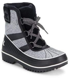 Tivoli Faux Fur Mid-Calf Boots $130 thestylecure.com