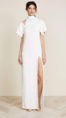 Monse Bow Collar Gown