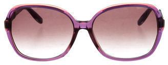 Bottega VenetaBottega Veneta Oversize Intrecciato Sunglasses