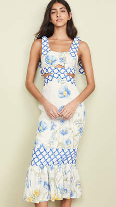 Alice McCall Flower Girl Midi Strap Dress