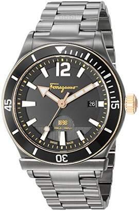 Salvatore Ferragamo Men's '1898 Sport' Swiss Quartz Stainless Steel Casual Watch