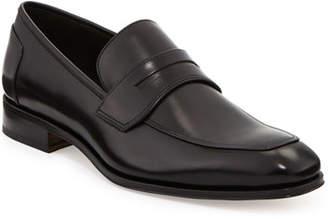 Salvatore Ferragamo Men's Leather Penny Loafer