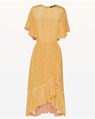 Juicy Couture Ditsy Laurel Ruffle Dress