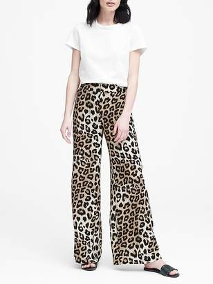 Banana Republic High-Rise Wide-Leg Pant