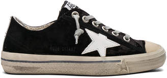 Golden Goose Velvet V Star 2 Sneakers