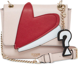 GUESS Pin Up Pop Convertible Crossbody $98 thestylecure.com