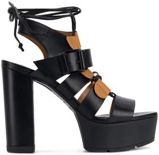 Vic Matié open toe platform sandals