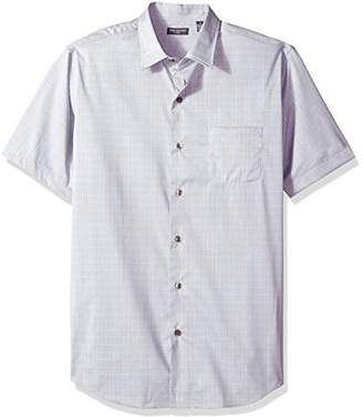 Van Heusen Men's Flex Stretch Short Sleeve Non Iron Shirt
