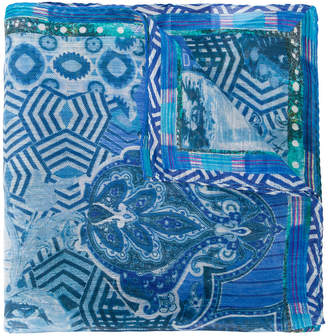 Etro Indian print scarf