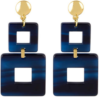 Henri Bendel Valet Toucan Square Linear Earring