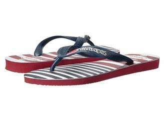 Havaianas USA Stripe Logo Flip-Flops Men's Sandals