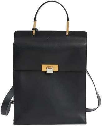Balenciaga Le Dix Black Leather Backpacks