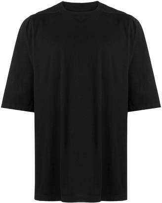 Rick Owens oversized plain T-shirt