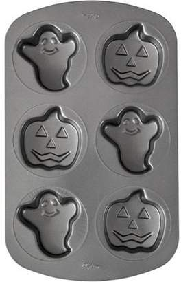 Wilton Ghost and Pumpkin Non-Stick Mini Cakes Pan, 6-Cavity