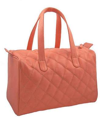 NV London Calcutta Ladies Quilted Leather Box Shaped Tote