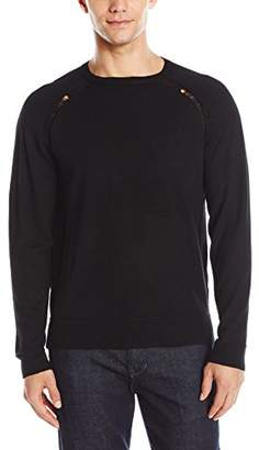 Joe's Jeans Men's Ripped Cashmere Blend Godrey Pullover Sweater