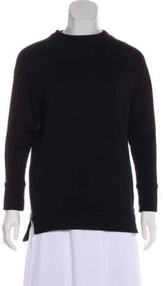 Varley Long Sleeve Zipper-Accented Sweatshirt