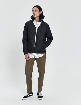 Herschel Sonic Quilt Jacket in Black