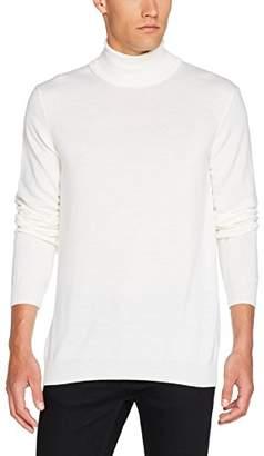 J. Lindeberg Men's Merino Wool High Neck Sweater