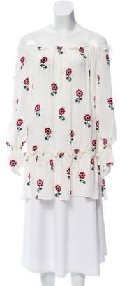 Stone_Cold_Fox Stone Cold Fox Silk Floral Print Tunic