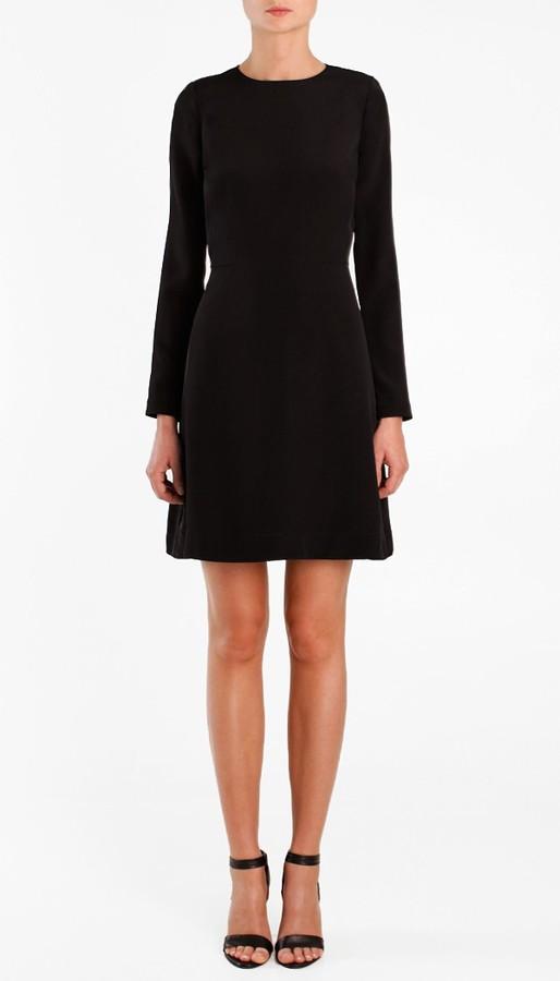 Silk CDC Long Sleeve Dress