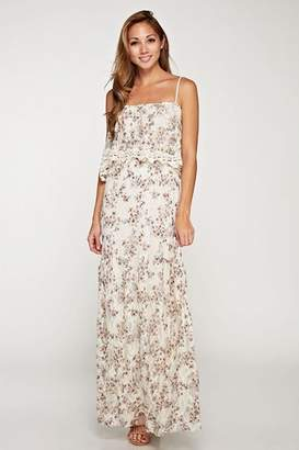 Love Stitch Dainty-Floral Lace Maxi